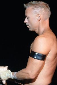 male muscle porn star: Ren Adams, on hotmusclefucker.com