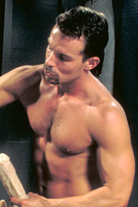 male muscle gay porn star Bill Marlowe | hotmusclefucker.com