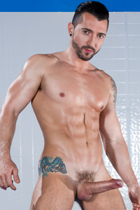 male muscle porn star: Jimmy Durano, on hotmusclefucker.com