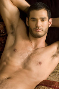 male muscle gay porn star Ricky Martinez | hotmusclefucker.com