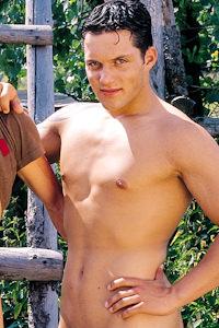 male muscle porn star: Fabian Harri, on hotmusclefucker.com