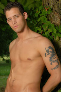 male muscle gay porn star Alex Lynch | hotmusclefucker.com