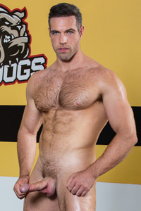 male muscle porn star: Alex Mecum, on hotmusclefucker.com