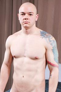 male muscle porn star: Alan B, on hotmusclefucker.com