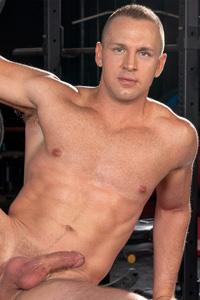 male muscle gay porn star Adam Gregory | hotmusclefucker.com