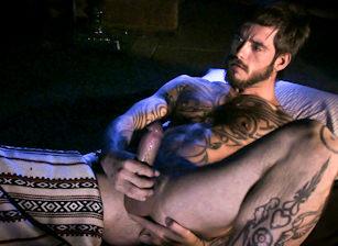 gay muscle porn clip: The Drifter - Dak Ramsey & Logan McCree & Vinnie D'Angelo, on hotmusclefucker.com
