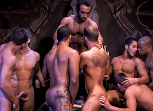 gay muscle porn clip: Mirage - Dominic Pacifico & Huessein & Justin Christopher & Marc Lasalle & Max Schutler & Rambo & Steve Cruz & Tommy Blade, on hotmusclefucker.com