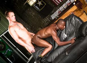 Aaron Summers & Jay Mack in Grunts - Misconduct   hotmusclefucker.com