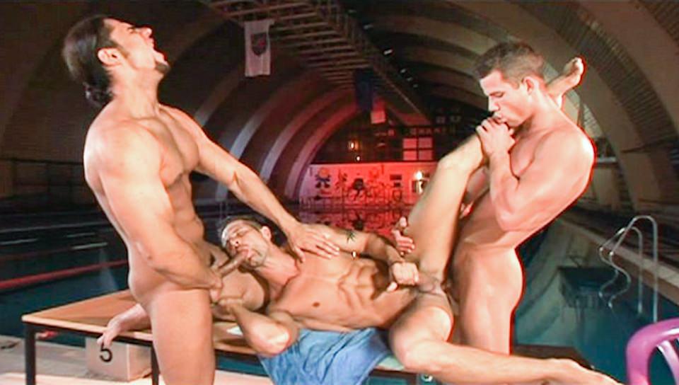 Carne Swim 2, Scene # 03 – Martin Hubai, Fredy Costa, Claudio Antonelli (ragingstallion)