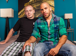 On The Set - Austin Wilde & Joey Devero Image 1