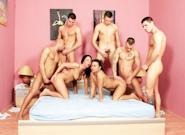 Forbidden Bisexual Orgy, Scene #02