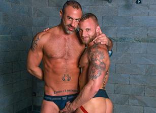 gay muscle porn clip: Carnal Desire - CJ Madison & Derek Parker, on hotmusclefucker.com