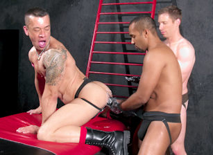 gay muscle porn clip: Fistpack 12 - Fist And Shout Part 1 - Billy Berlin & Lee Heyford & Marc Lasalle, on hotmusclefucker.com