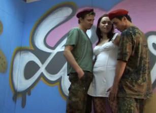 Bareback Bisex Soldiers #02, Scene #03