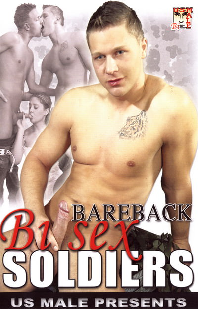 Bareback Bisex Soldiers, muscle porn movie / DVD on hotmusclefucker.com