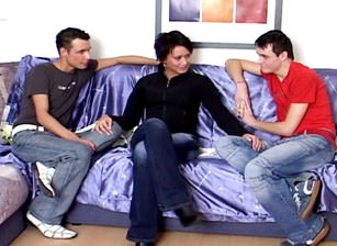 Bareback Bi Sex Lovers #01, Scene #03