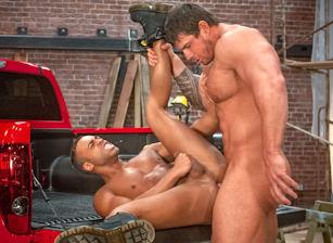 gay muscle porn clip: Built Tough - Micah Brandt & Zeb Atlas, on hotmusclefucker.com