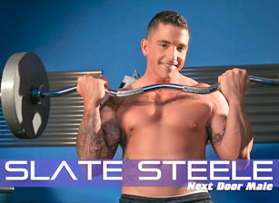 Next door male slate steele