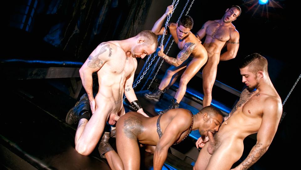 Scopata Down – Cinque Man Orgy Parte 02 – Mathew Mason, Troy Haydon, Spencer Reed, Bryce Star, Colin Black (ragingstallion)
