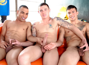- James Ryder & Joey Rico & Trelino - Hot Muscle Fucker