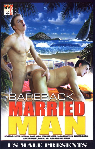 Bareback Married Man, muscle porn movie / DVD on hotmusclefucker.com