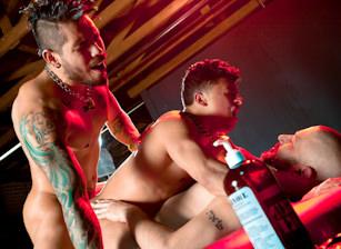 gay muscle porn clip: Daddyz Boyz - Armond Rizzo & Draven Torres & Tony Buff, on hotmusclefucker.com