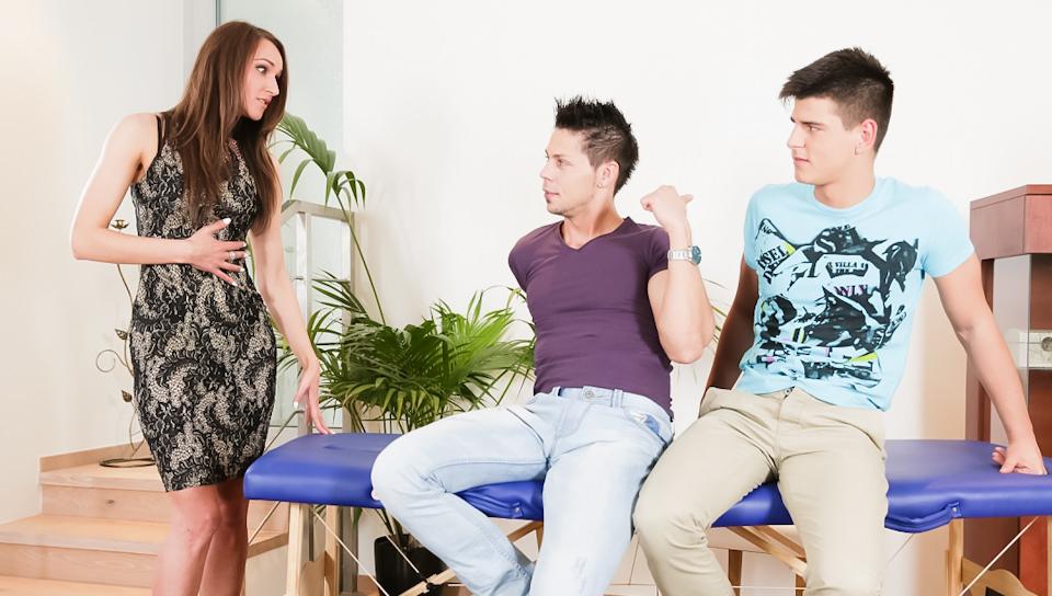 Il mio ragazzo è gay # 09, Scene # 03 – Donna, Angelo Godshack, Marti Cane (malereality)