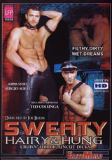 Sweaty Hairy and Hung Dvd Cover