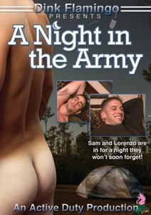 A Night in the Army DVD Cover