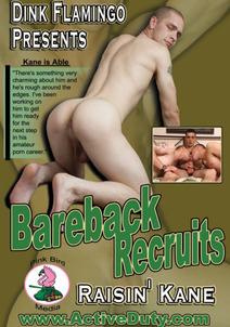 Bareback Recruits: Raisin' Kane DVD Cover