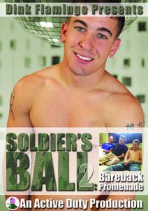Soldier's Ball 2:  Bareback Promenade DVD Cover