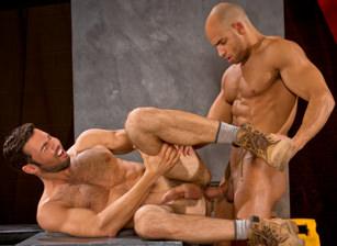 gay muscle porn clip: Clusterfuck! 2 - Dario Beck & Sean Zevran, on hotmusclefucker.com