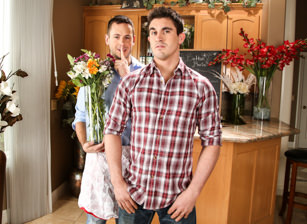 gay muscle porn clip: The Wedding Planner 2: Florist Edition - Brenner Bolton & Derrick Dime, on hotmusclefucker.com