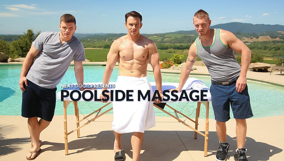 Massaggi a bordo piscina – Addison Graham, Jake Karhoff, Ivan James (nextdoorstudios)