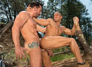 gay muscle porn clip: Total Exposure 2 - Jimmy Durano & Sean Zevran, on hotmusclefucker.com