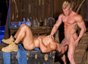 gay muscle porn clip: Total Exposure 2 - Dorian Ferro & Johnny V, on hotmusclefucker.com