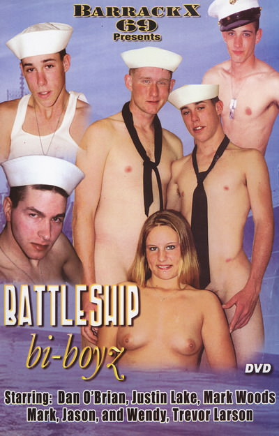 Battleship Bi-Boyz, muscle porn movies / DVD on hotmusclefucker.com
