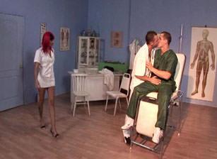 Bi Cream Pie Clinic #01, Scene #03