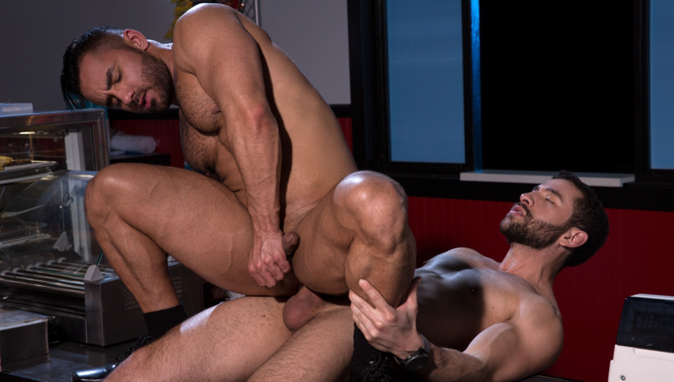 Drive Thru, Scene # 04 – Bruno Bernal, Lucas Allen (ragingstallion)