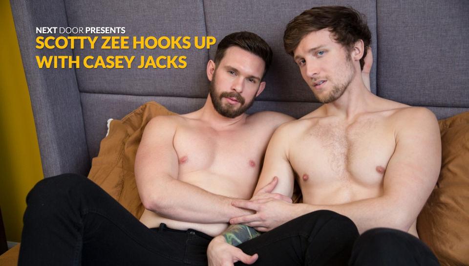 Scotty Zee si aggancia con Casey Jacks – Scotty Zee, Casey Jacks (NextDoorBuddies.com)