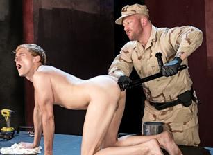 Hugh Hunter & Colin Bryant in Full Fist Interrogation | hotmusclefucker.com