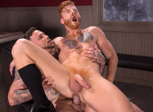 gay muscle porn clip: High N' Tight - Bennett Anthony & Gage Unkut, on hotmusclefucker.com