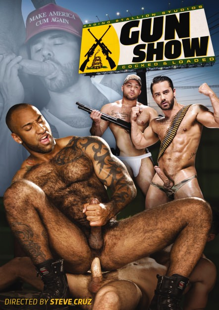 gay muscle porn movie Gun Show | hotmusclefucker.com