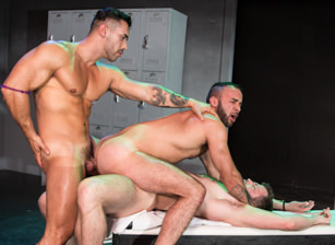 gay muscle porn clip: Clothing Optional - Arad Winwin & Fernando Del Rio & Kurtis Wolfe, on hotmusclefucker.com