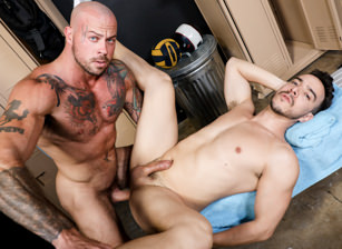 gay muscle porn clip: I Love You In A Jock Strap - Alessio Vega & Sean Duran, on hotmusclefucker.com