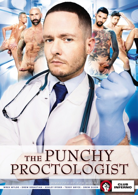 The Punchy Proctologist Dvd Cover