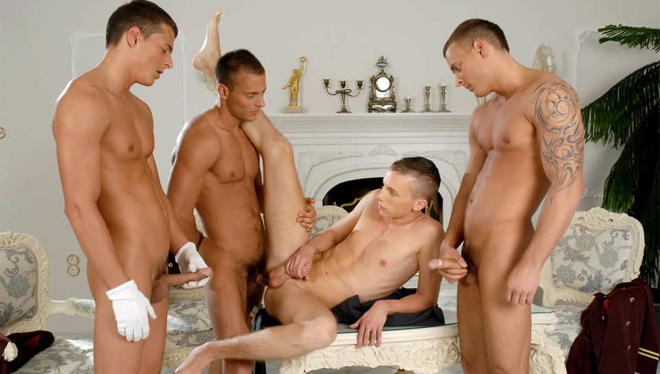 Gemelli - Visconti Triplets - The World's Only Triplets In Gay Porn