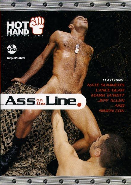 Ass On The Line Dvd Cover
