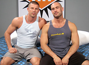 gay muscle porn clip: Craig Reynolds And Kyle King  - Craig Reynolds & Kyle King, on hotmusclefucker.com