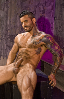 Raging stallion muscle and ink
